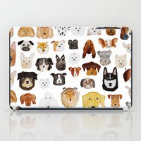 dogs iPad Cases featuring Dogs by maureen