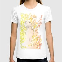 erotic T-shirts featuring Floral Beauty  by Stevyn Llewellyn