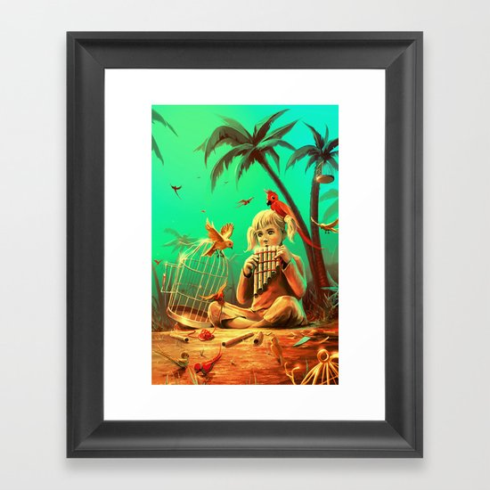 Set Them Free Framed Art Print