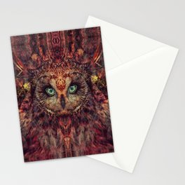 Mystic Owl Stationery Cards