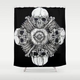 Death Clock Shower Curtain