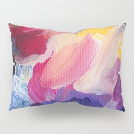 Robbie Abstract Painting Pillow Sham