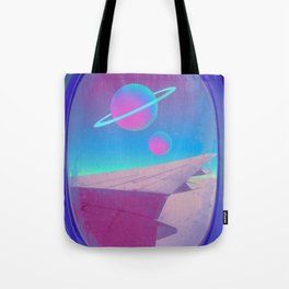 Space Journey Tote Bag