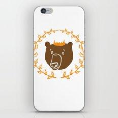 King of the Bears iPhone & iPod Skin