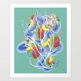 Alien Organism 21 Art Print