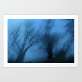 Visions in the twilight Art Print