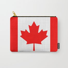 Canadian National flag, Authentic color and 3:5 scale version Carry-All Pouch