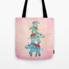 LUCKY ELEPHANTS Tote Bag