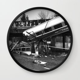 Amtrak Train Wall Clock