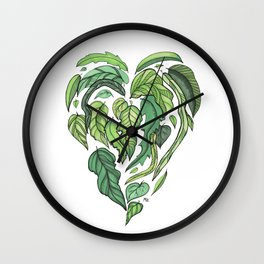 Hard Love II Wall Clock