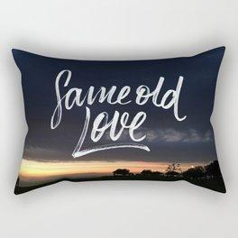 Same old love Rectangular Pillow