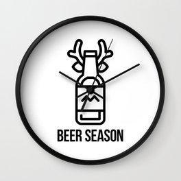 Beer Season Wall Clock