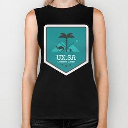 Emblem UX Saudi Biker Tank
