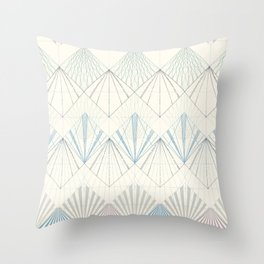Muted Mellow Throw Pillow
