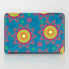 Moroccan Flower Blue iPad Case
