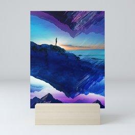 Since the moment I left Purple Mini Art Print