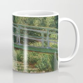 1899-Claude Monet-The Japanese Footbridge and the Water Lily Pool, Giverny-89 x 93 Coffee Mug