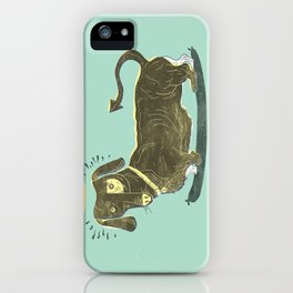 Bad Dog! (The Little Dachshund That Didn't) iPhone Case
