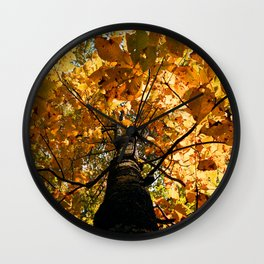 Autumn Is Glorious Wall Clock