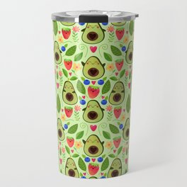 Happy Avocados Travel Mug
