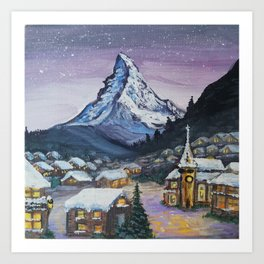 Zermatt Art Print