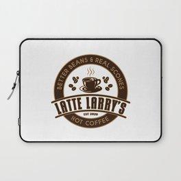 Latte Larry's Laptop Sleeve