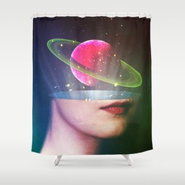 The Elements Of Mentality Shower Curtain