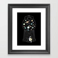 My Childhood Universe 2 Framed Art Print
