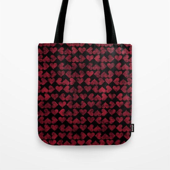 Colorful Love Pattern XV Tote Bag