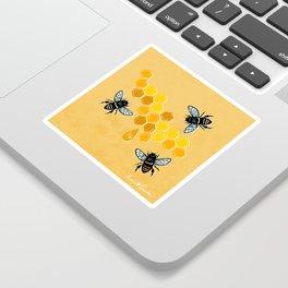 """""""Honeybees"""" Sticker"""