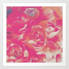 flower peone Art Print
