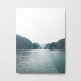 Ha Long Bay in Vietnam Metal Print