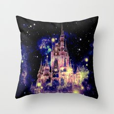 Celestial Palace Deep Pastels Throw Pillow