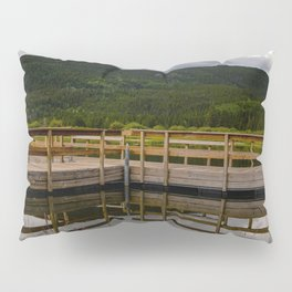 Geometric Reflections Pillow Sham