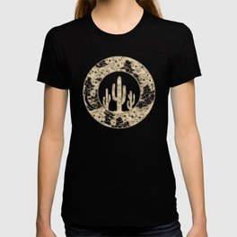 Cactus Desert Nights Gold T-shirt