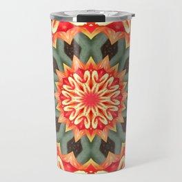 Starburst Mandala Travel Mug