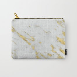 Treviso gold marble Carry-All Pouch