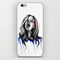 In Our Wildest Moments // Fashion Illustration iPhone & iPod Skin