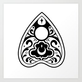 Planchette Art Print