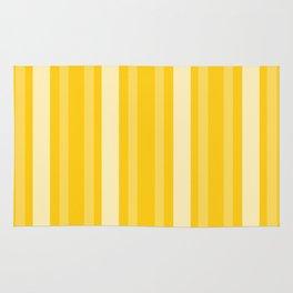Mustard Victorian Lady Stripe Rug