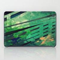 malachite iPad Cases featuring MALACHITE by Matt Schiermeier