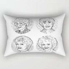 The Golden Girls Rectangular Pillow