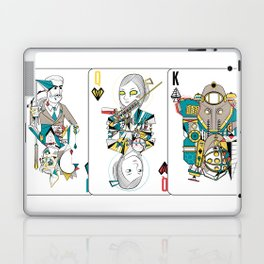 Bioshock Playing Card collection (Big Daddy/Splicer/Little Sister/Andrew Ryan/Delta) Laptop & iPad Skin