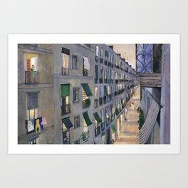 Carrer de Joaquin Costa - Barcelona Art Print