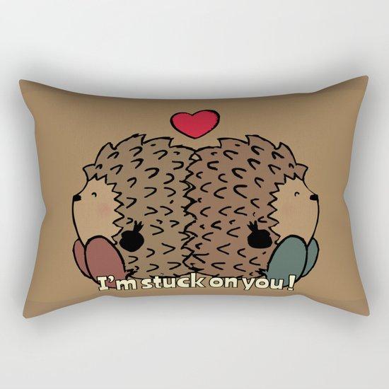 I'm stuck on you! Rectangular Pillow