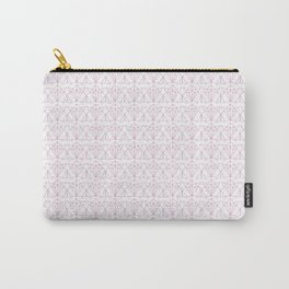 Geometric Pink Fox Carry-All Pouch