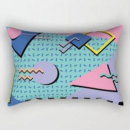Memphis Pattern 14 - 80s Retro Rectangular Pillow