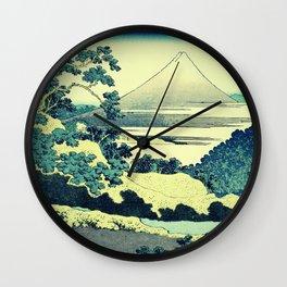 Crossing at Kina Wall Clock