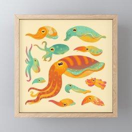Cuttlefish Framed Mini Art Print