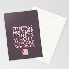 Aaaaand 1...2...3.... stretch your mouth open wide and get that cupcake in there!!! Stationery Cards